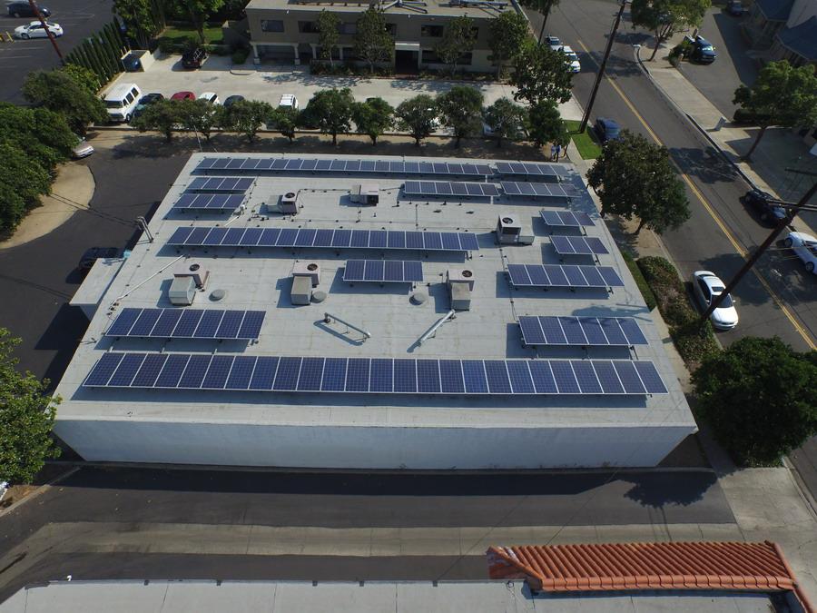 Commercial Solar Orange County CA