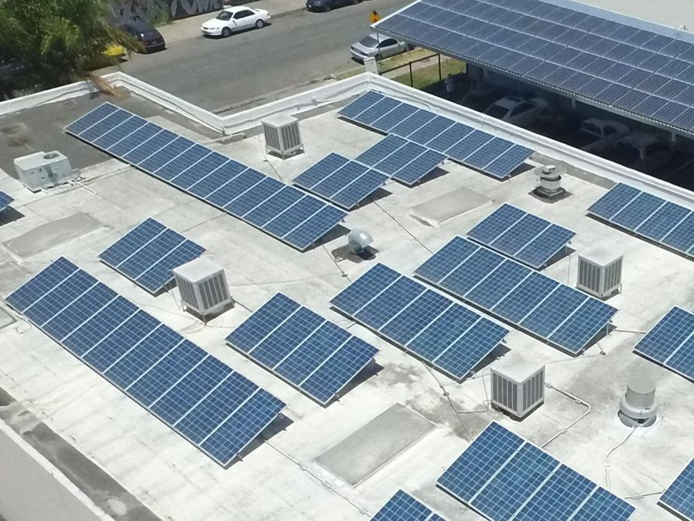 commercial solar power business financing