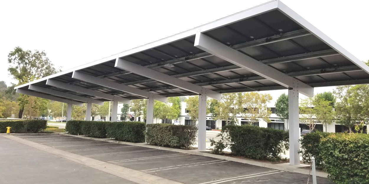 solar solutions from Solar Energy Builders like solar carport installation
