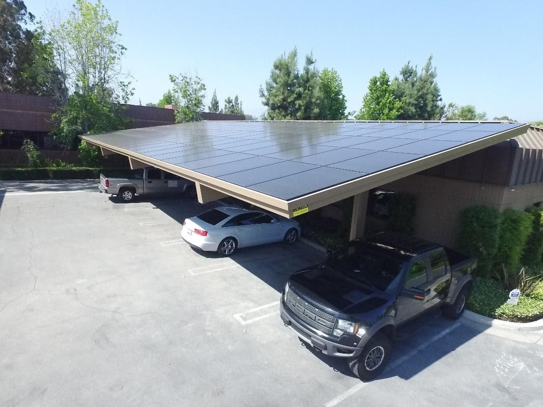 Solar carports Orange County, Los Angeles, San Diego and Inland Empire