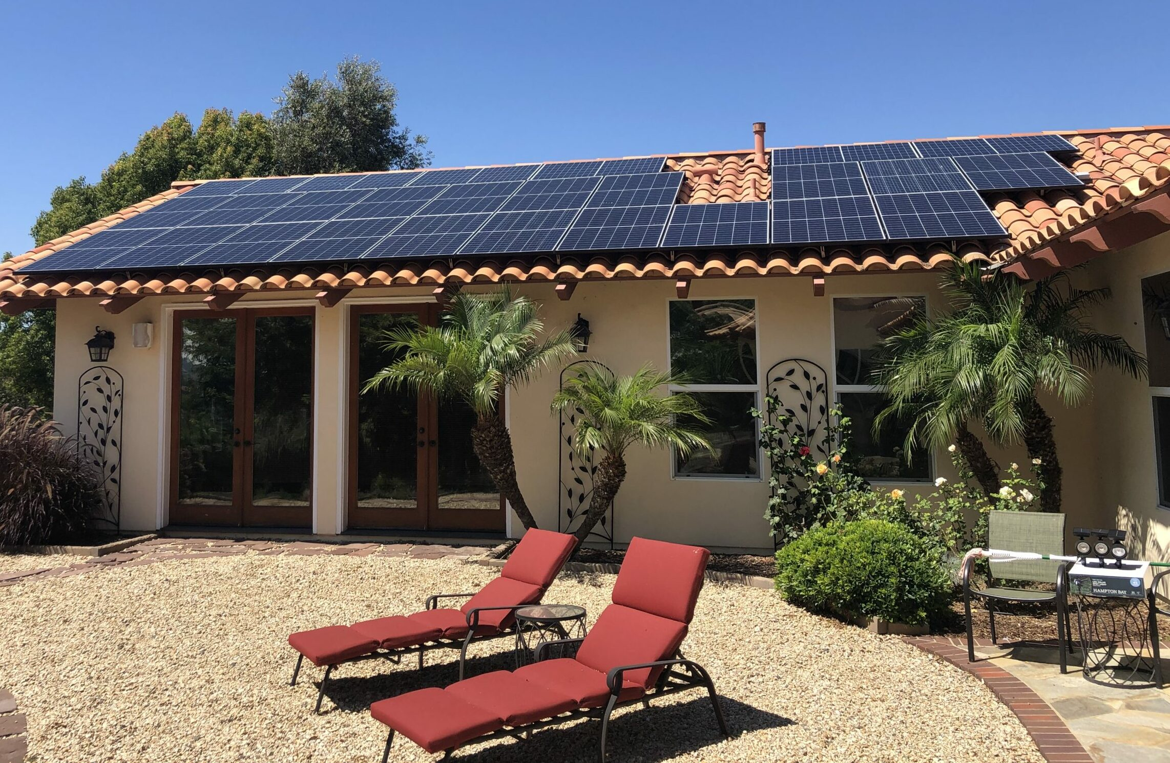 residential roof mount solar system