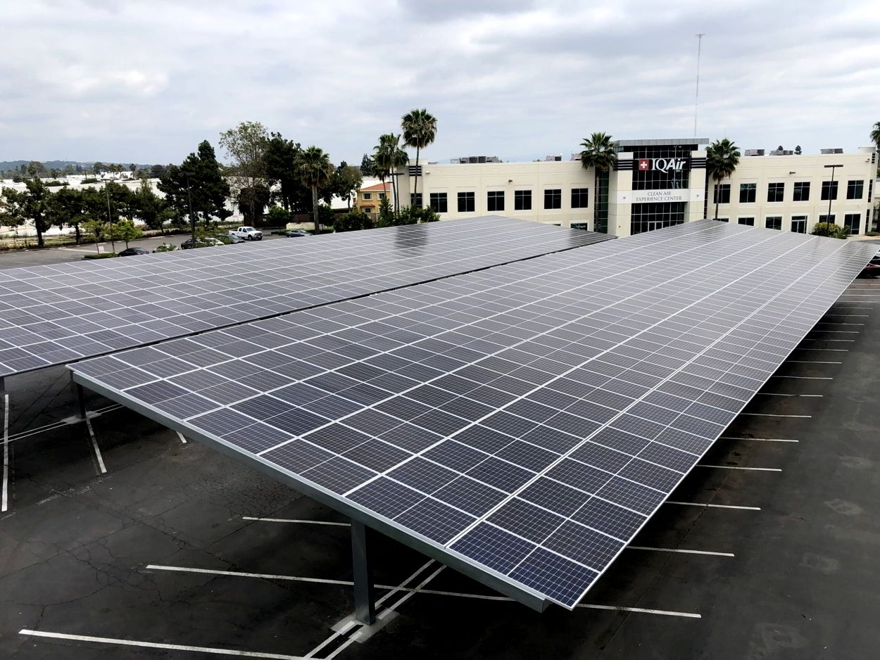 solar carports Orange County, Inland Empire, Los Angeles, San Diego