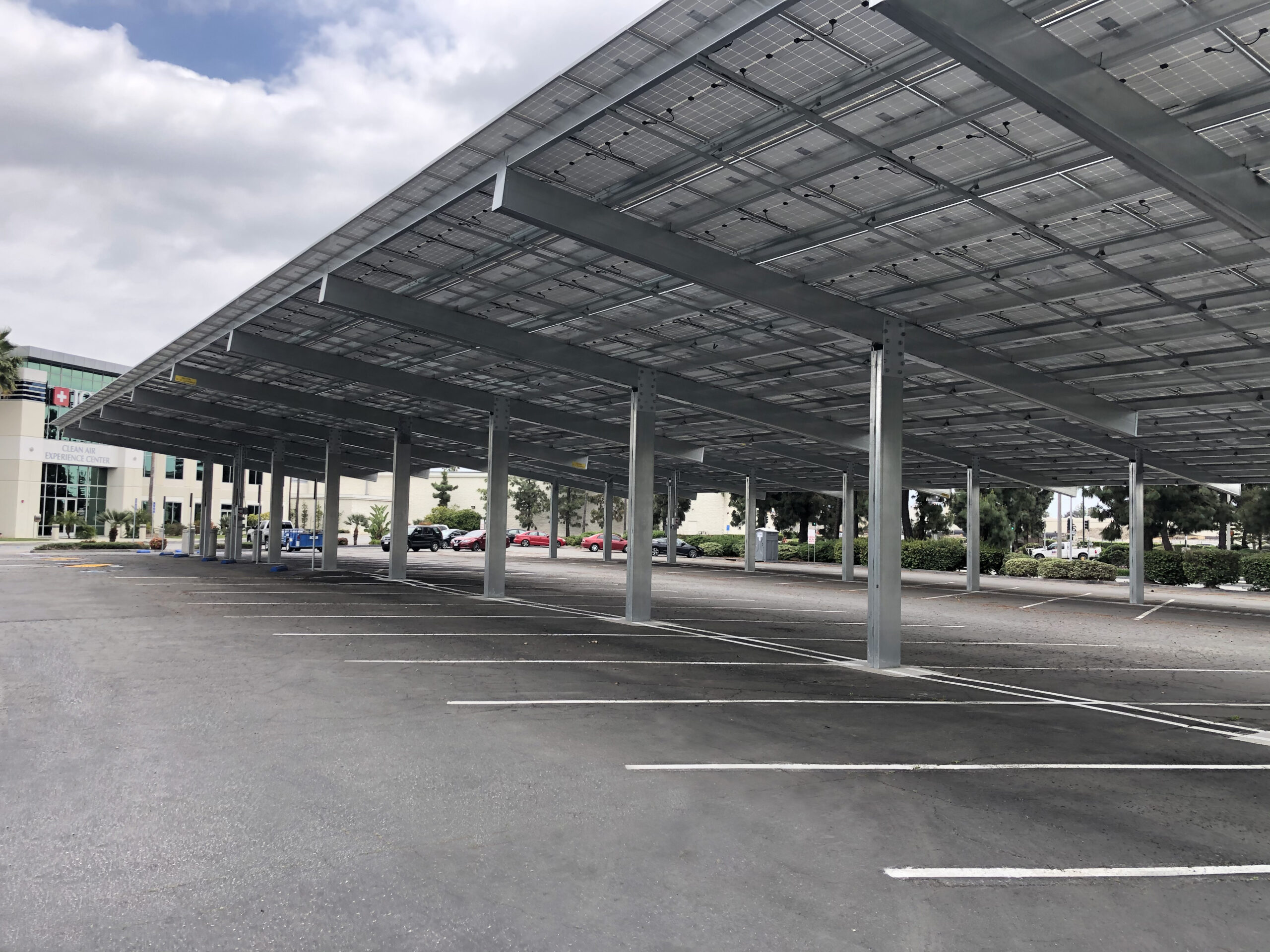solar carport solar canopy